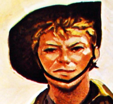 David Bowie Furyo Portrait
